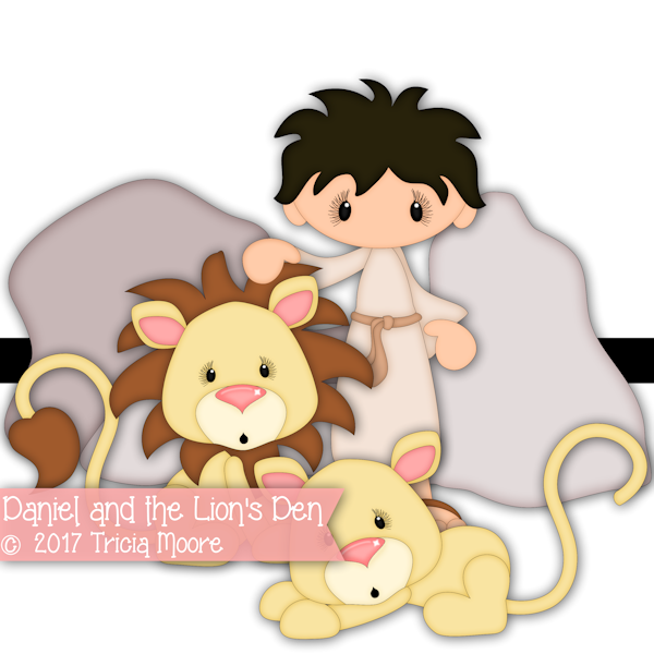 daniel in the lion's den clipart lions' lion lions cut file digi stamp