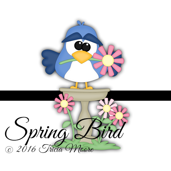 spring bird crazy bird flower spring summer bird bath