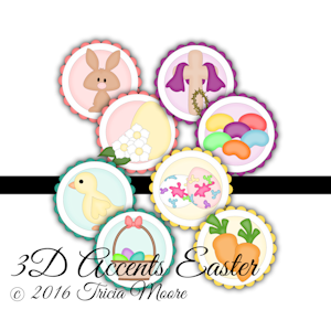 3D Accents Easter