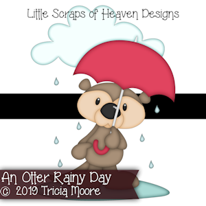 An Otter Rainy Day