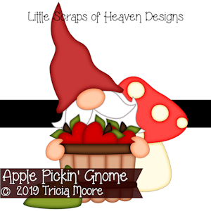 Apple Pickin' Gnome