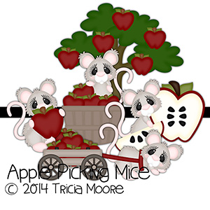 Apple Picking Mice