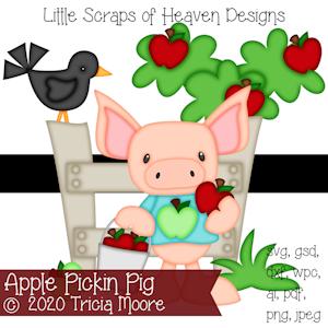 Apple Pickin Pig