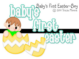 Baby's First Easter Boy Set