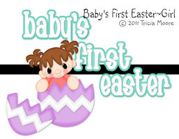 Baby's First Easter Girl Set