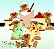 Baking Gingers