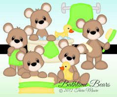 Bathtime Bears