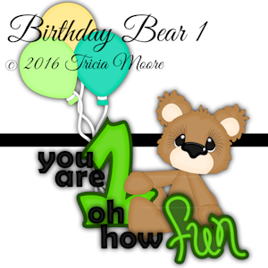 Birthday Bear 1