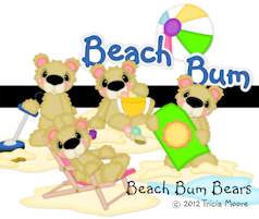 Beach Bum Bears