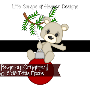 Bear on Ornament