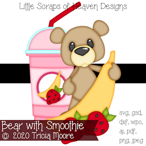 Bear with Smoothie