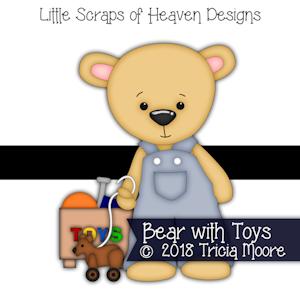 Bear with Toys