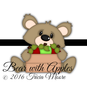 Bear with Apples