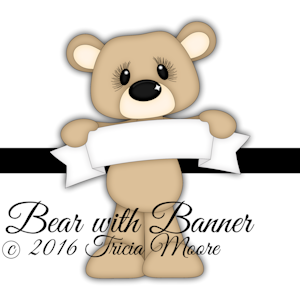 Bear with Banner