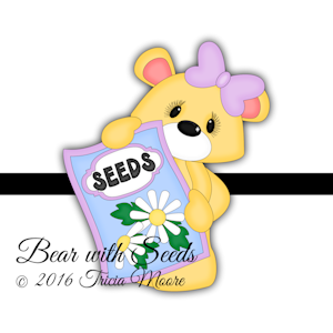Bear with Seeds