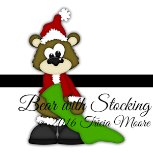 Bear with Stocking