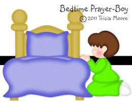 Bedtime Prayer Boy
