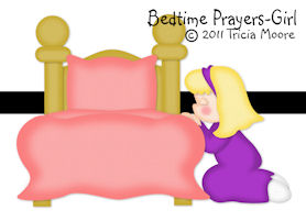 Bedtime Prayer Girl