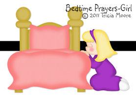 Bedtime Prayer Girl
