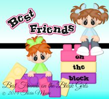 Best Friends on the Block Girl