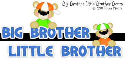 Big Brother Little Brother Bears