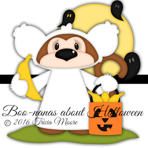 Boo-nanas about Halloween