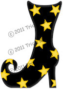 Boot With Stars