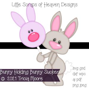 Bunny Holding Bunny Sucker