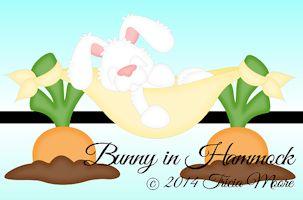 Bunny in Hammock
