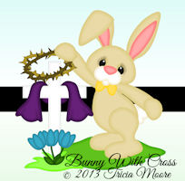 Bunny with Cross