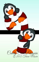 Candy Cane Penguin