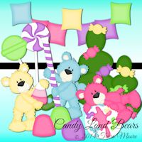 Candy Land Bears