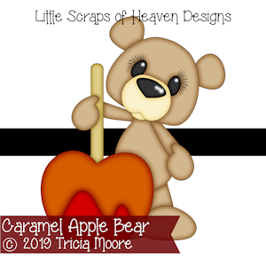 Caramel Apple Bear