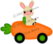 Carrot Car Pattern