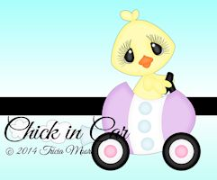 Chick in Car