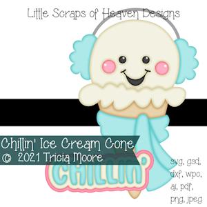 Chillin' Ice Cream Cone
