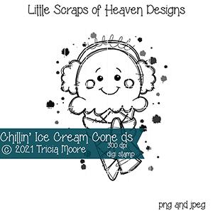 Chillin' Ice Cream Cone ds