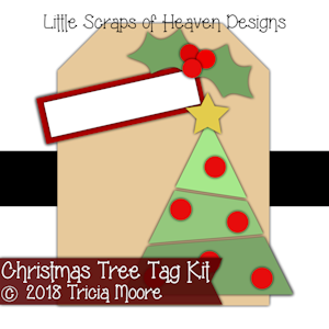 Christmas Tree Tag Cover