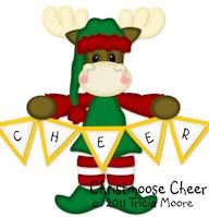 Christmoose Cheer Pattern