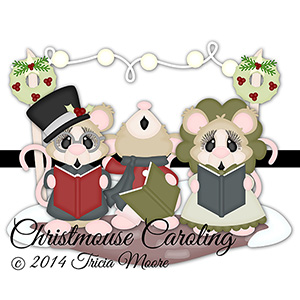 Christmouse Caroling