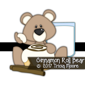 Cinnamon Roll Bear