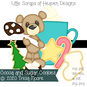 Cocoa and Sugar Cookies