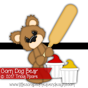 Corn Dog Bear