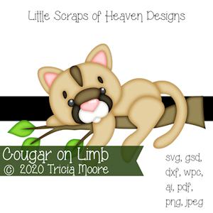 Cougar on Limb