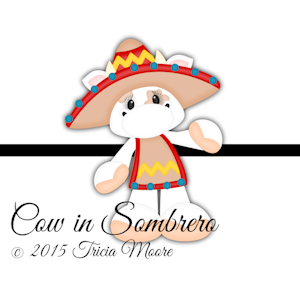 Cow in Sombrero