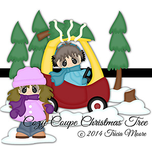 Cozy Coupe Christmas Tree