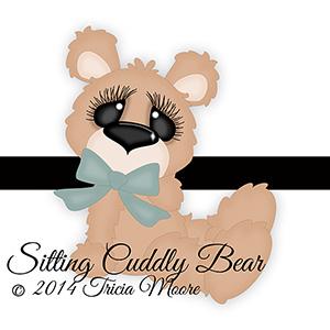 Cuddly Bear Sitting