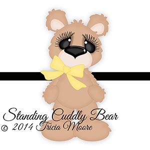 Cuddly Bear Standing