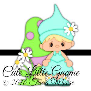 Cute Little Gnome
