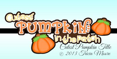 Cutest Pumpkin Title